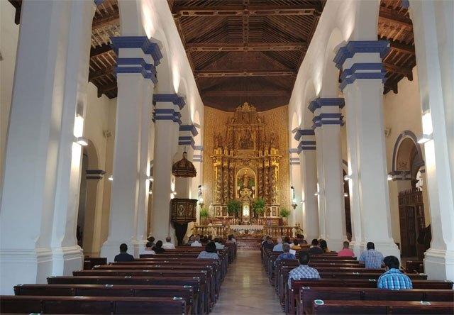 Los lugares de culto se limitan al 50 % en este nuevo estado de alarma, Foto 1