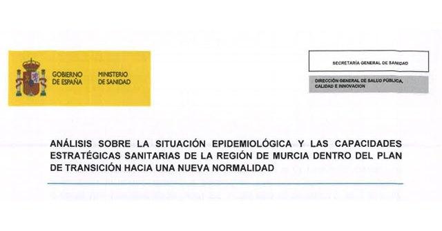 Un informe del Ministerio de Sanidad alertaba en Mayo de la situación en el área III de Salud y en especial en Totana
