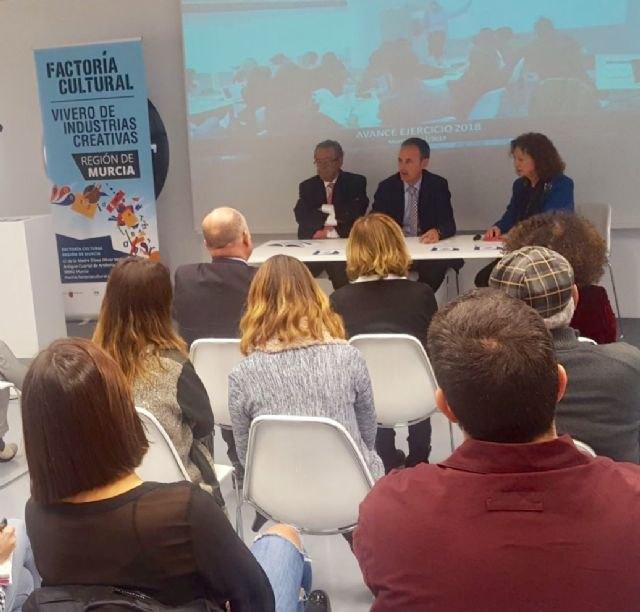 Cultura colabora con Factoría Cultural Región de Murcia en el lanzamiento de 28 nuevas becas de emprendimiento - 1, Foto 1