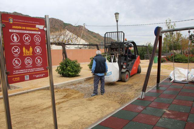 Mejoras del área de juegos infantiles del jardín Miguel de Cervantes - 3, Foto 3