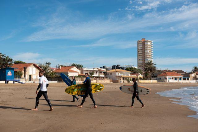 Mazarrón acoge el tercer curso de entrenador nacional de surf - 1, Foto 1