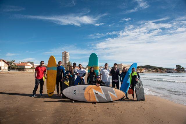 Mazarrón acoge el tercer curso de entrenador nacional de surf - 2, Foto 2