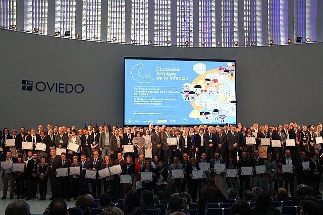 Campos Del Río recoge el reconocimiento como Ciudad Amiga de la Infancia 2018 - 4, Foto 4