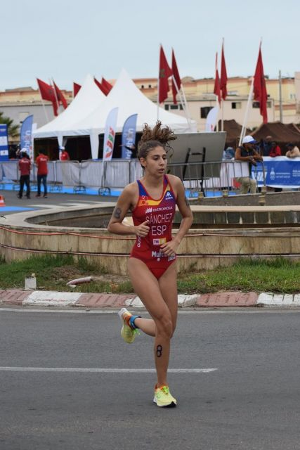 La triatleta del Tritones Murcia Sport Club, Paula Sánchez García, única española en la Copa de África de triatlón sprint - 1, Foto 1
