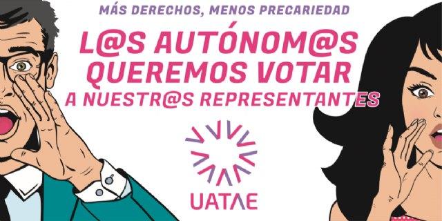 50 taxis de Caracol y Élite se suman a UATAE en la campaña ´Un autónomo/a, un voto´, por una representatividad democrática - 1, Foto 1