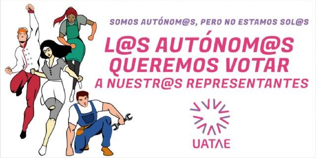 50 taxis de Caracol y Élite se suman a UATAE en la campaña ´Un autónomo/a, un voto´, por una representatividad democrática - 2, Foto 2