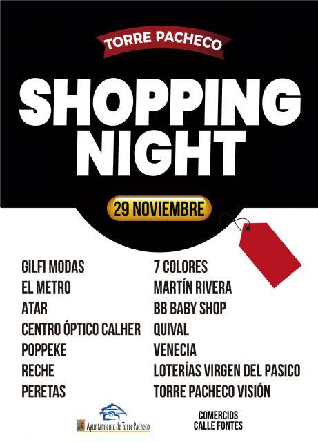 Este viernes comercios de Torre Pacheco celebran SHOPPING NIGHT - 1, Foto 1