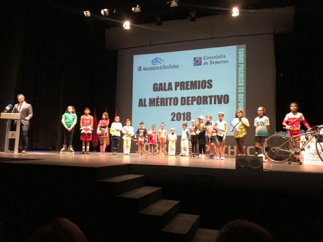 Deportistas de Torre Pacheco reciben un reconocimiento en la III Gala del Deporte Premios al Mérito Deportivo Torre Pacheco 2018 - 2, Foto 2