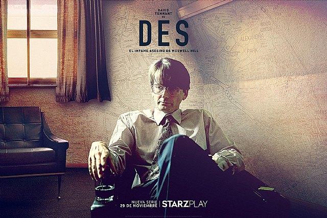 Starzplay estrena este domingo la escalofriante miniserie de true-crime DES, protagonizada por David Tennant - 1, Foto 1