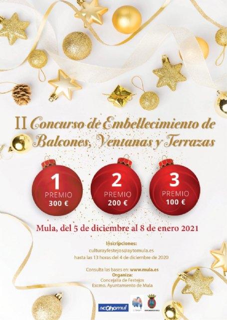 II Concurso de embellecimiento de balcones, ventanas y terrazas con motivos navideños - 1, Foto 1