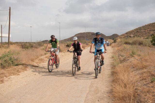 La Vía Verde de Mazarrón ofrece una alternativa turística en los meses de invierno, Foto 1
