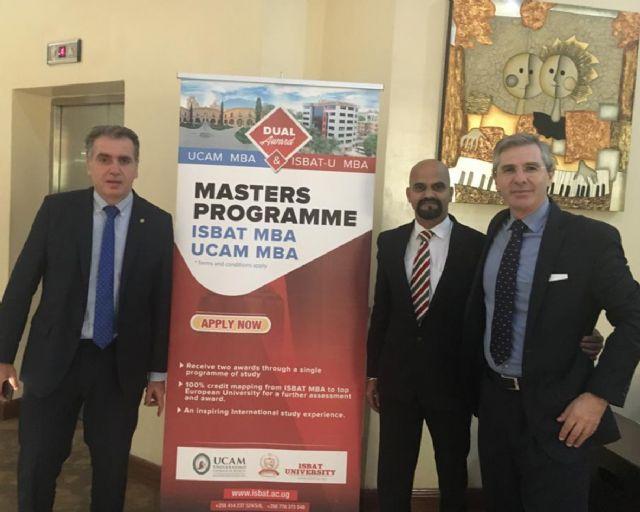 La UCAM gradúa en Uganda a un grupo de estudiantes de MBA - 1, Foto 1