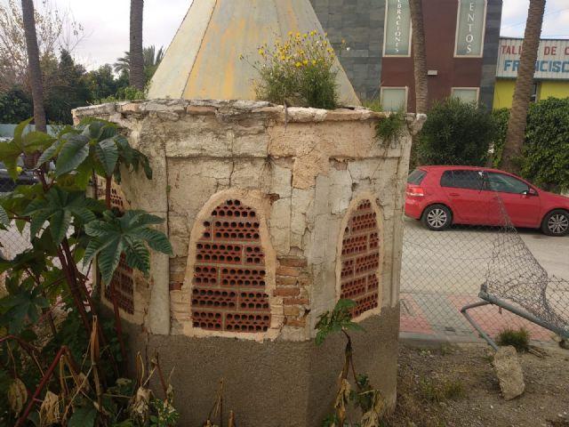 Cambiemos Murcia denuncia el estado de abandono del pozo artesiano de Zarandona - 2, Foto 2