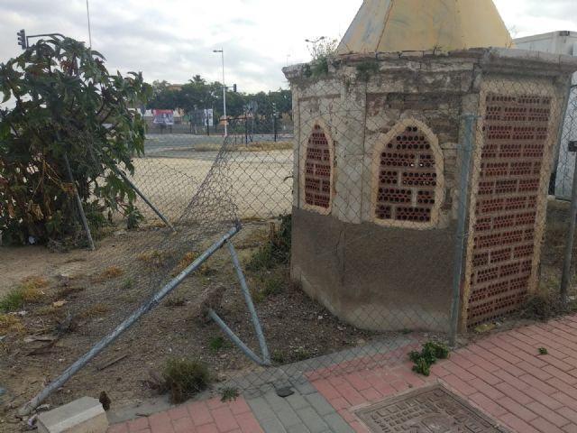 Cambiemos Murcia denuncia el estado de abandono del pozo artesiano de Zarandona - 3, Foto 3