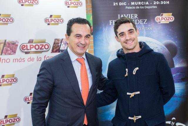 El Pozo Alimentación acompaña a Javier Fernández en la gira