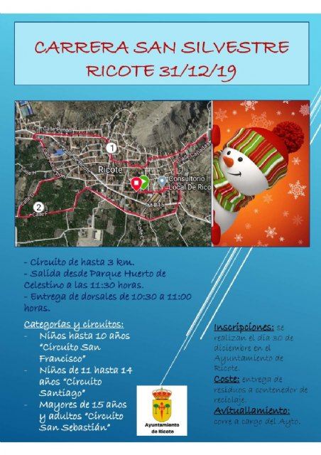 Carrera de San Silvestre Ricote 2019 - 1, Foto 1