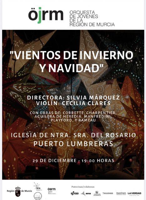 La Orquesta de Jóvenes de la Región de Murcia actuará este domingo en la Iglesia de Nuestra Señora del Rosario - 1, Foto 1