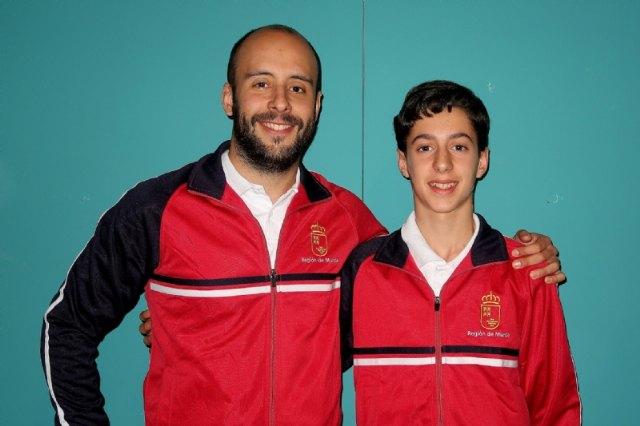 El pabellón Adolfo Suárez acoge los entrenamientos de la Selección Murciana de Baloncesto de cara al Campeonato de España Escolar, Foto 2