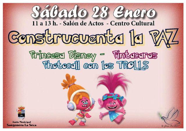 La Junta Municipal de Sangonera la Seca realiza actividades en torno a la lectura por el día de la No Violencia y la Paz - 1, Foto 1