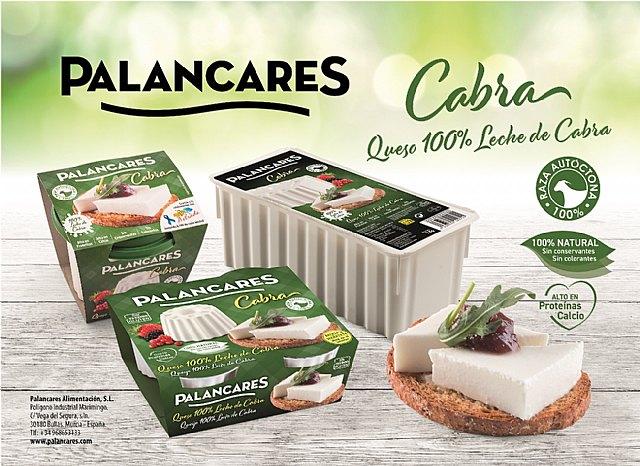 PALANCARES ALIMENTACIÓN completa su gama de quesos frescos 100% cabra, Foto 1