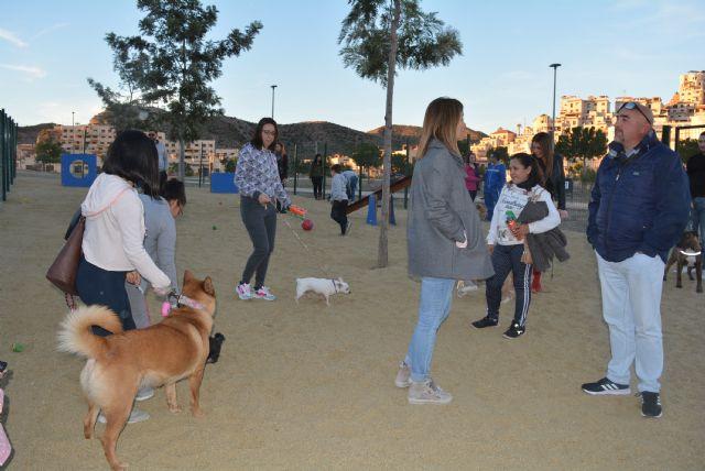 Águilas inaugura su primer parque canino que se ampliará con un segundo el próximo mes de marzo - 2, Foto 2