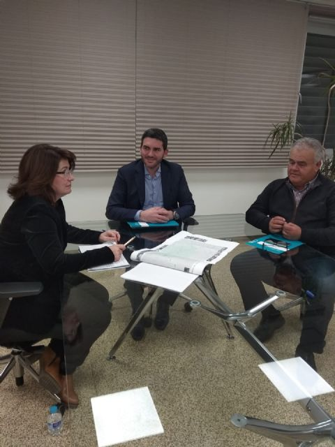 Juan Pagán has held a meeting with Antonio Luengo, Minister of Water, Agriculture, Livestock, Fisheries and Environment, to discuss important issues for Totana, Foto 5
