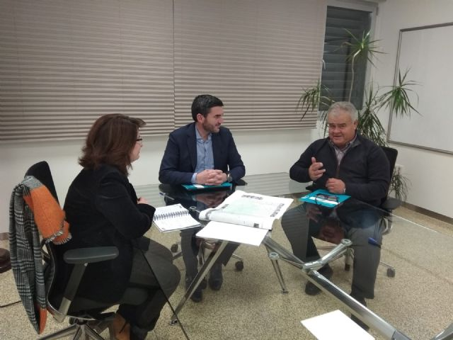 Juan Pagán has held a meeting with Antonio Luengo, Minister of Water, Agriculture, Livestock, Fisheries and Environment, to discuss important issues for Totana, Foto 6
