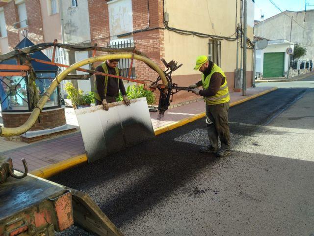El Ayuntamiento inicia un plan de parcheo que se extenderá en todas las calles de Puerto Lumbreras - 2, Foto 2