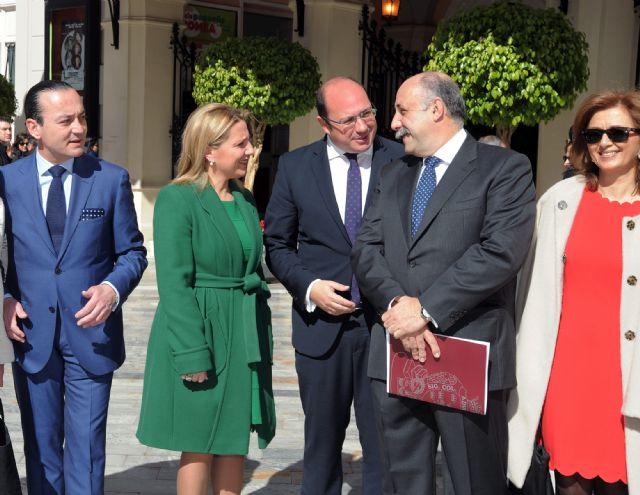 El presidente de la Comunidad asiste al pregón de la Semana Santa de Murcia 2016 - 3, Foto 3
