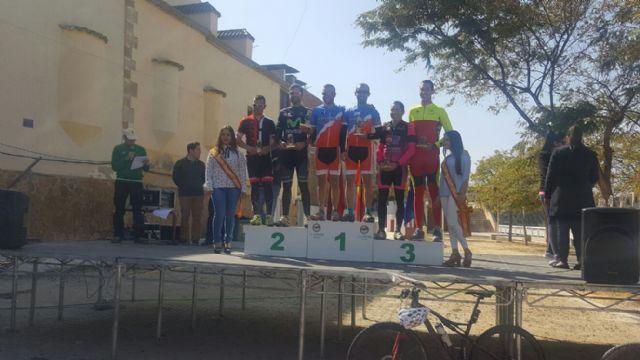 Tercer puesto para el equipo del CC Santa Eulalia formado por Juan Daniel Costa - Julio Bermejo en la prueba de circuito mtb-o del sureste (Albudeite)