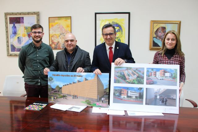 El Ayuntamiento de Alhama y la empresa El Ciruelo firman un convenio para la construcción del nuevo pabellón deportivo en El Praíco, Foto 2