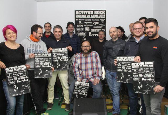 Puerto Lumbreras acogerá el Festival 'Actitud Rock' en honor a Ángel Rosique - 1, Foto 1