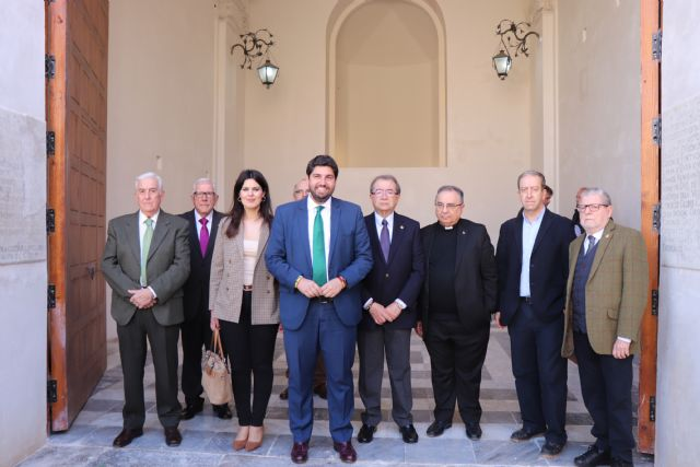 López Miras: Con la restauración de la Capilla del Socorro de Cartagena damos un paso más en la recuperación de nuestro patrimonio cultural - 1, Foto 1