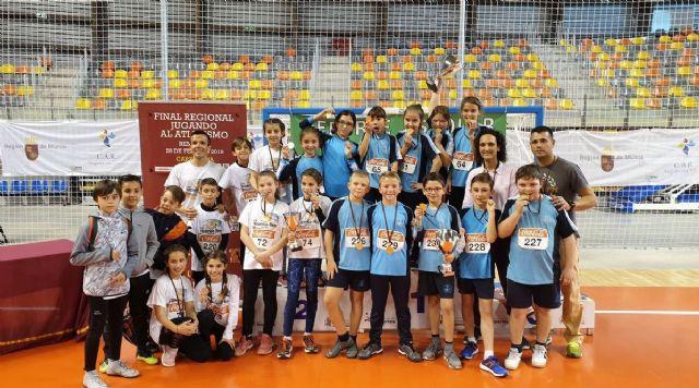 Cartagena, campeona regional de Atletismo Benjamín - 1, Foto 1