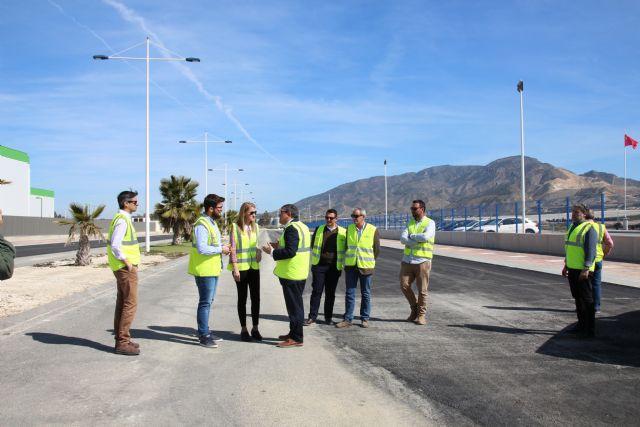 El Parque Industrial de Alhama consolida su expansión con las obras de las últimas fases del plan parcial El Valle - 1, Foto 1