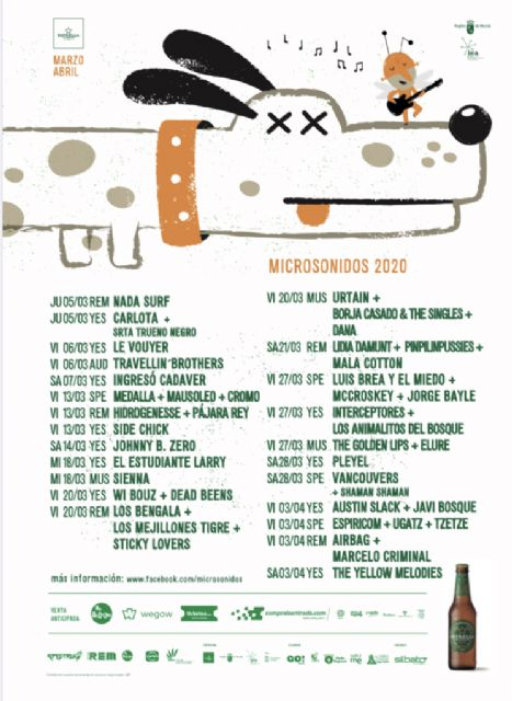 Microsonidos programa 20 conciertos en marzo con el apoyo de Cultura - 1, Foto 1
