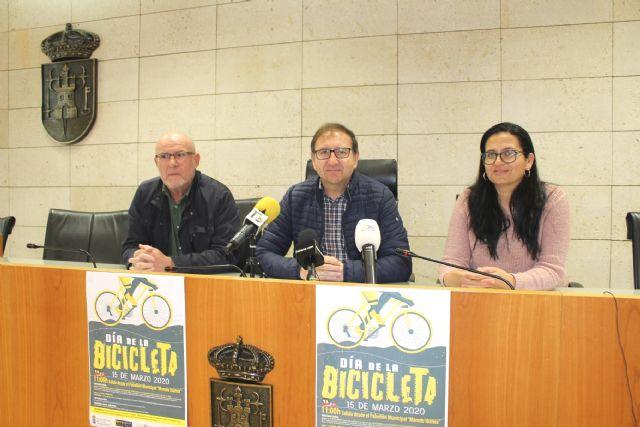 El Día de la Bicicleta se celebrará el domingo 15 de marzo, con salida en el Pabellón de Deportes