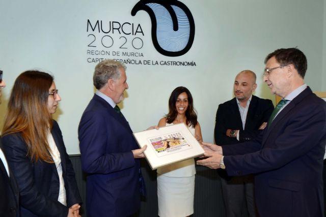 La gastronomía murciana protagoniza el cupón nacional de la ONCE - 2, Foto 2
