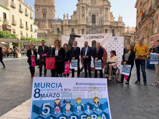 La Carrera de la Mujer celebra su quinta edición el próximo 8 de marzo por las calles de Murcia - 3, Foto 3