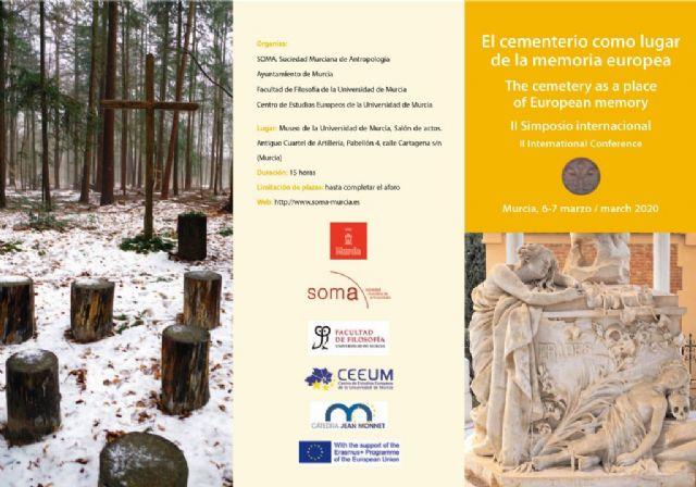 El cementerio de Mazarrón objeto del simposio 'el cementerio como lugar de la memoria europea' - 2, Foto 2