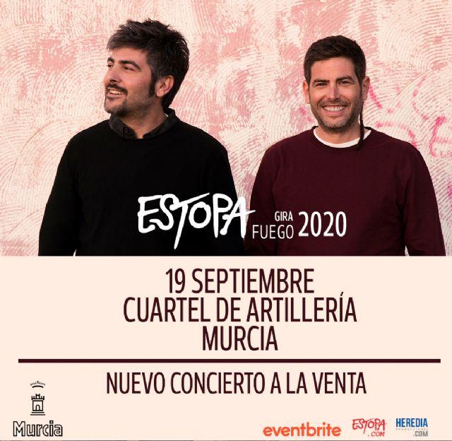 Estopa confirma nueva fecha de su Gira Fuego en Murcia - 1, Foto 1