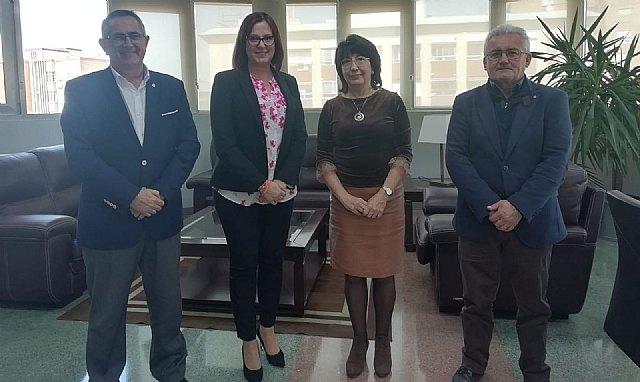 Reunión del Alcalde y la Vicepresidenta de la CARM - 1, Foto 1