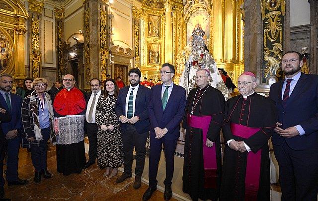 La imagen restaurada de la Fuensanta podrá cumplir con la tradición de estar con los murcianos en Cuaresma, Semana Santa y Fiestas de Primavera - 1, Foto 1