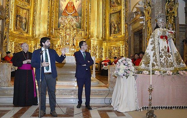 La imagen restaurada de la Fuensanta podrá cumplir con la tradición de estar con los murcianos en Cuaresma, Semana Santa y Fiestas de Primavera - 2, Foto 2