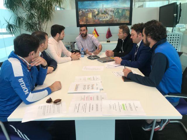 El Alcalde de Torre Pacheco recibe al director del King´s College Murcia - 2, Foto 2