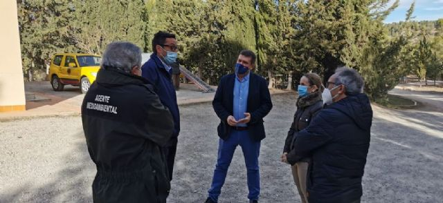 El Gobierno regional destina 418.000 euros para mejorar los sistemas forestales en el monte Las Rueldas en Cehegín - 1, Foto 1