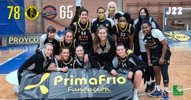 Victoria 12+1 para el UCAM Primafrio Jairis, frente al CB Pozuelo UFV, con una gran Starr Breedlove - 1, Foto 1