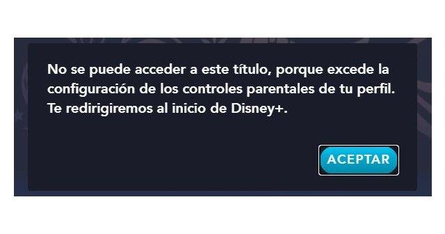 Peter Pan no está disponible para los perfiles infantiles de Disney +, Foto 2