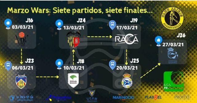 UCAM Primafrio Jairis afronta un frenético mes de marzo en el que se jugará sus aspiraciones de entrar en la fase de ascenso a la Liga Femenina - 1, Foto 1
