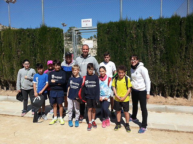 Penultimate league match of the Tennis Club Kuore in front of the Club of Tennis La Alcayna of Murcia